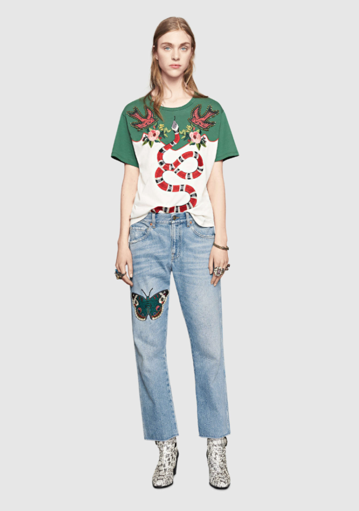 Gucci snake shirt